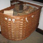 custom made log basket