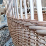 basket being woven