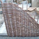 corner basket base