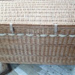 hamper with rope handles