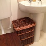 bathroom hamper