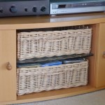 custom made baskets in white willow