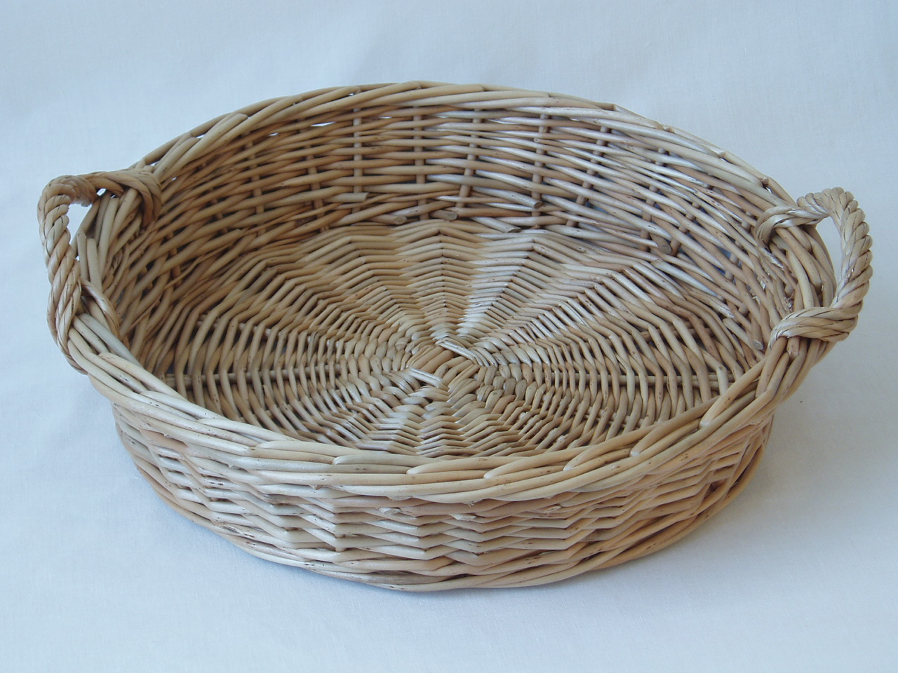 Fruit Baskets And Trays Wicker Beachcomber Round