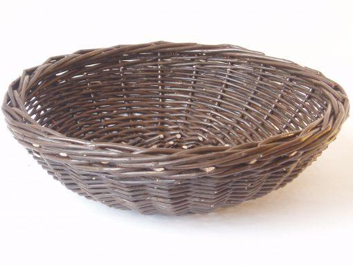 dark willow fruit basket made in uk