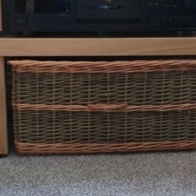 custom made storage basket made in uk