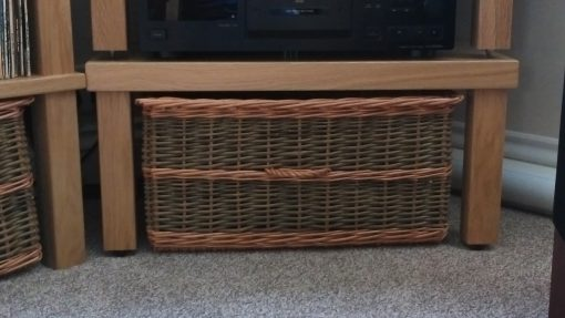 custom made storage basket made in uk
