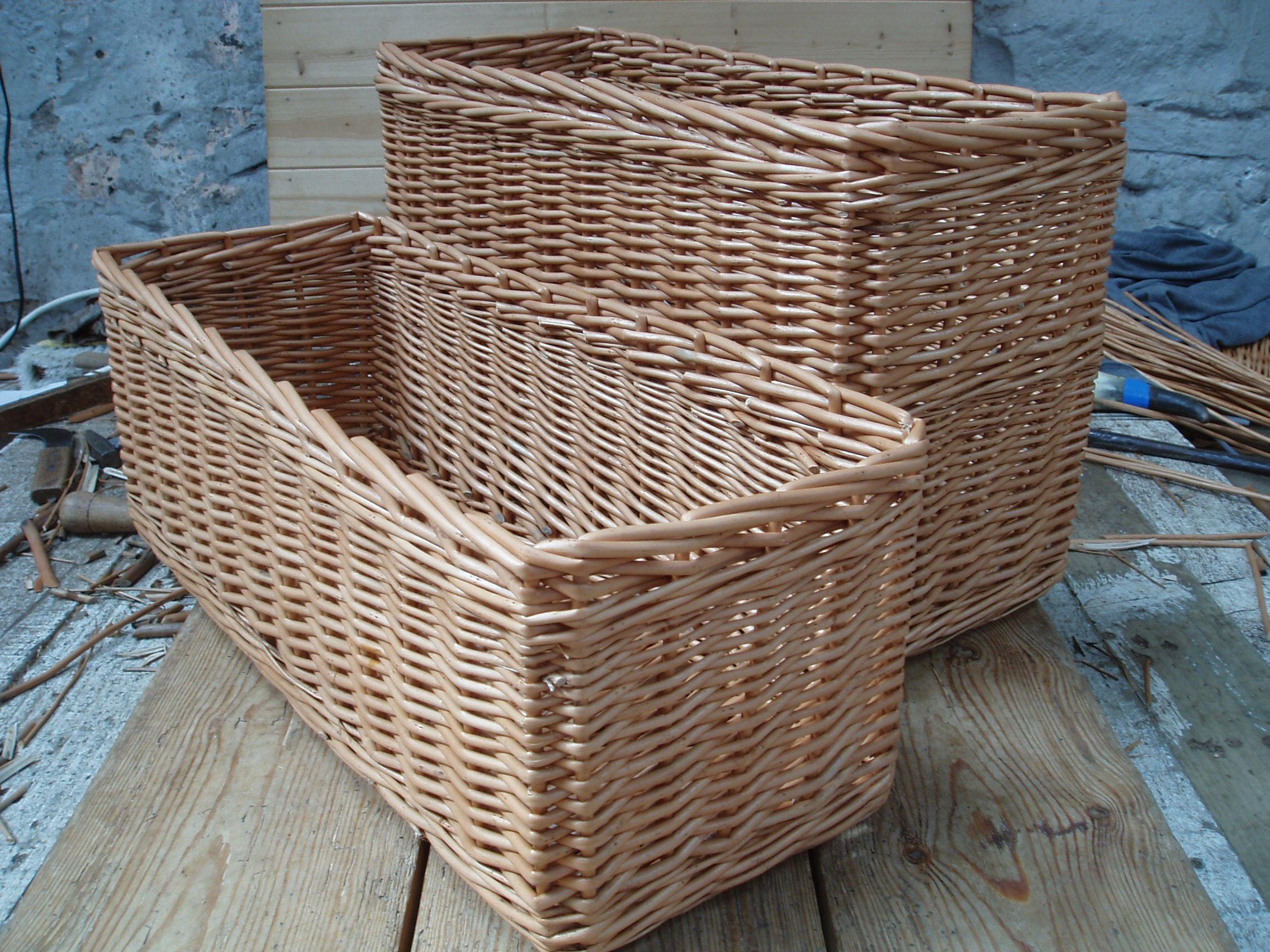 Genial ID 203 For Long Narrow Baskets For Storage, Image Source:  Hastingwoodbasketworks.com