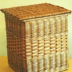 rectangular linen basket made in uk