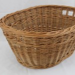 buff willow washing basket