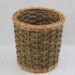 willow waste paper basket made in uk