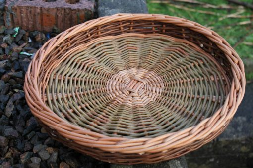 round willow tray made in uk