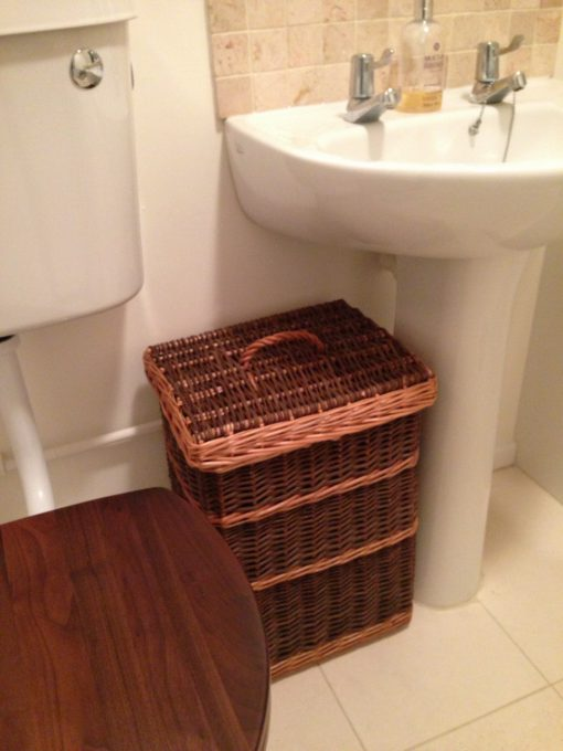 bathroom hamper