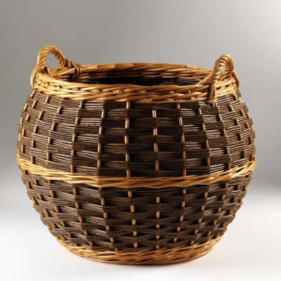barrel log basket made in uk