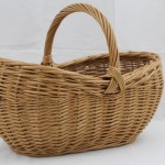 wicker shopping basket