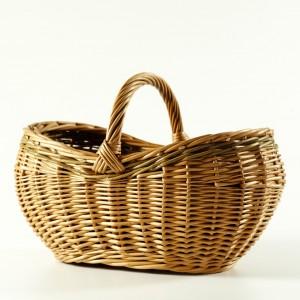 willow shopping basket