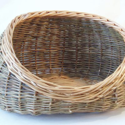 willow cat basket made in uk