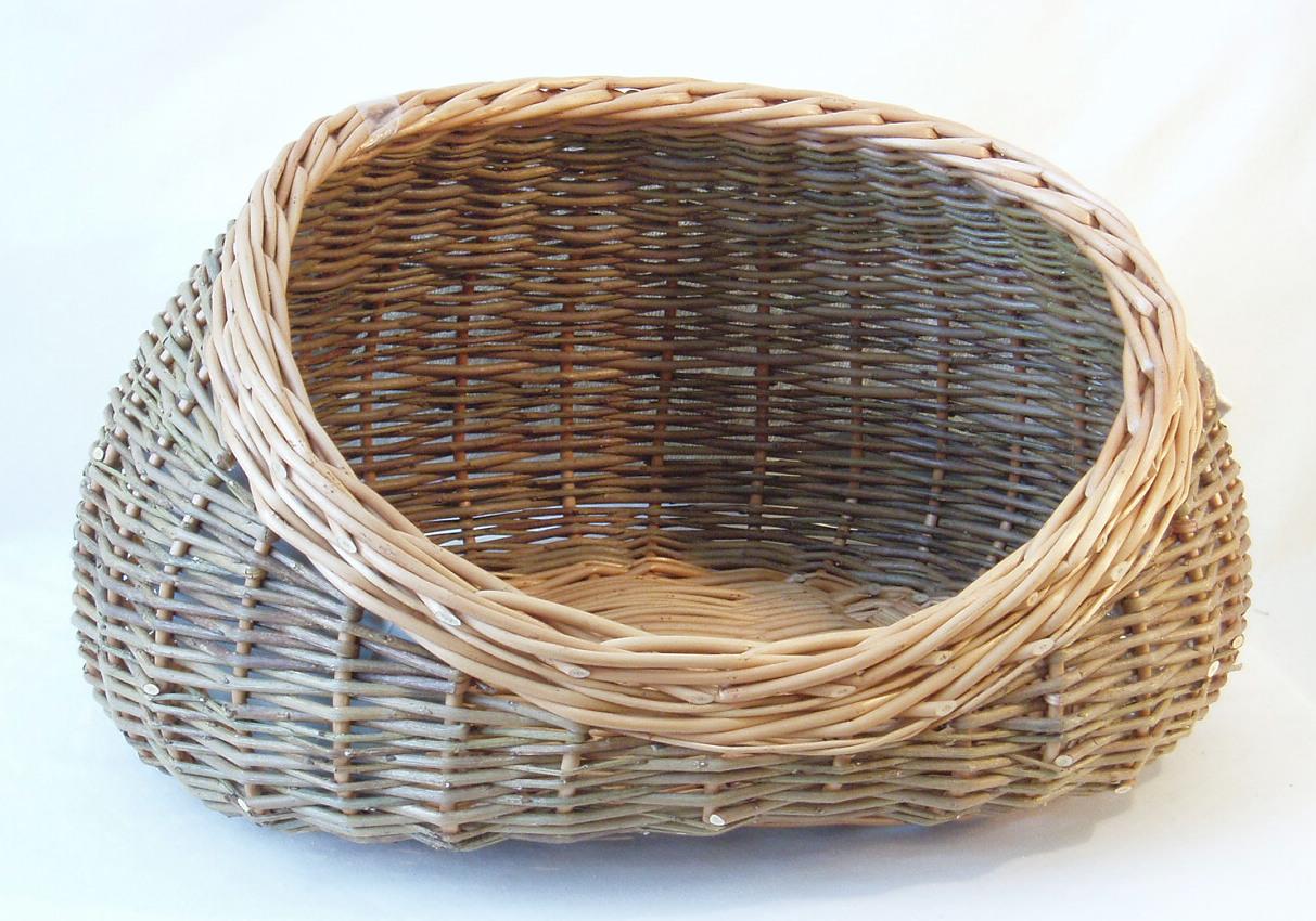 Cosy Cat Basket Wicker Baskets