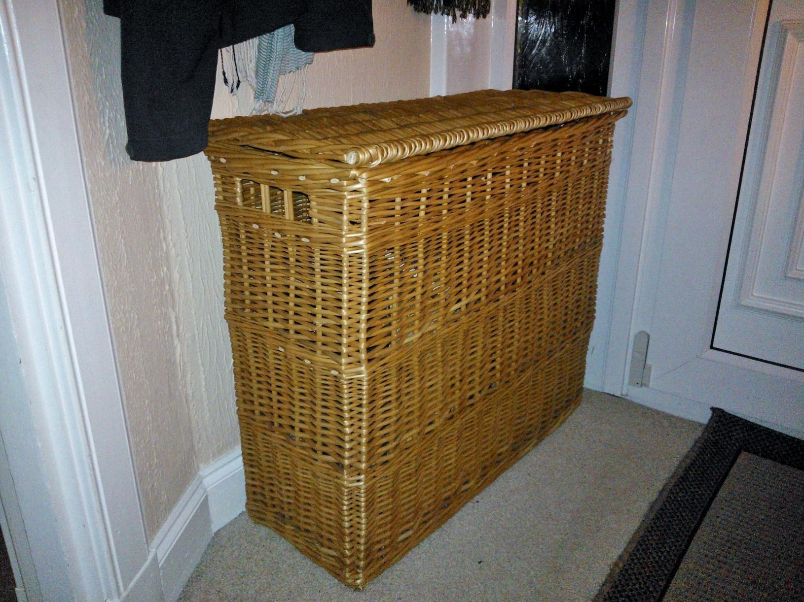 Hamper ideas wicker baskets - Narrow laundry hamper ...