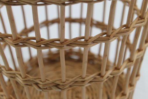 traditional fitched waste paper basket