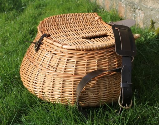 large wicker fishing creel
