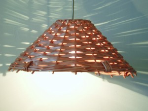 willow llightin wicker ceiling pendant