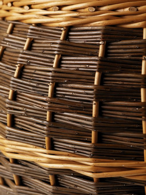 barrel log basket