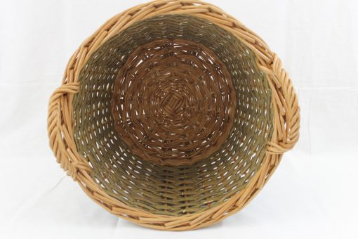 round log basket made in uk