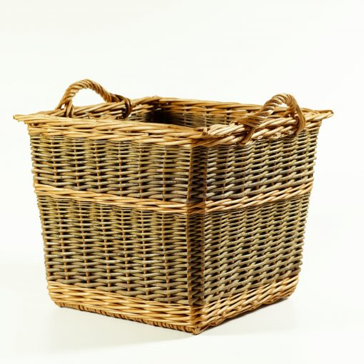 square log basket made in uk