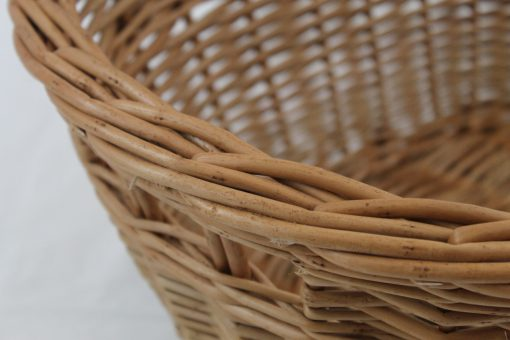 willow washing basket made in uk