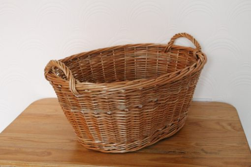 wicker washing basket made in uk