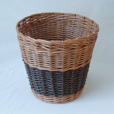 wicker waste paper basket made in uk