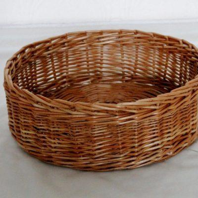 round fruit basket made in uk