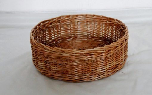round fruit basket made in uk