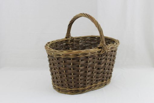 oval shopping basket hastingwood basket works