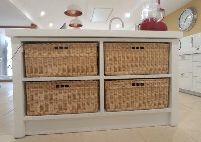 custom made kitchen baskets